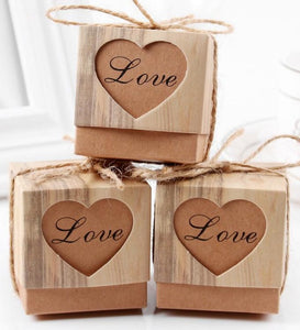 Favour Box With Heart