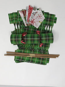 Christmas Plaid DIY Cracker Kit