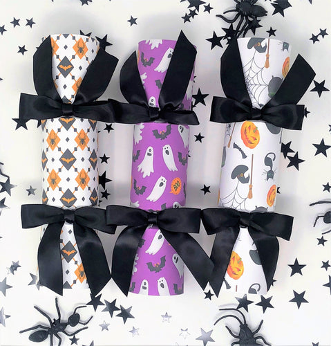 Halloween Cracker, birthday party favour, halloween party favor.