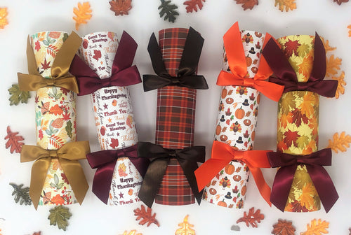 Leaves of Fun! - Thanksgiving Crackers
