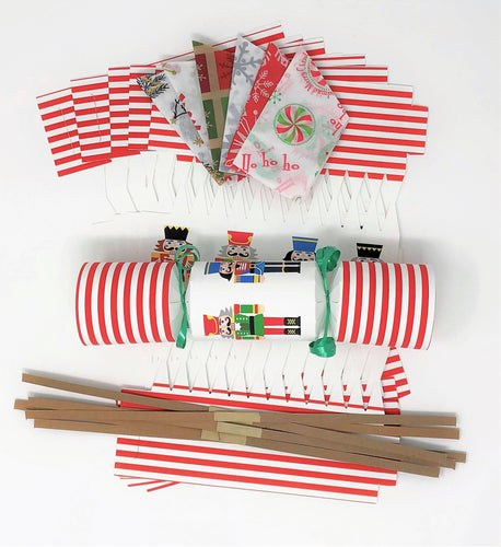 Christmas Cracker kit do it yourself (DIY) Nutcracker