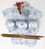 Christmas Cracker kit do it yourself (DIY) snowflakes
