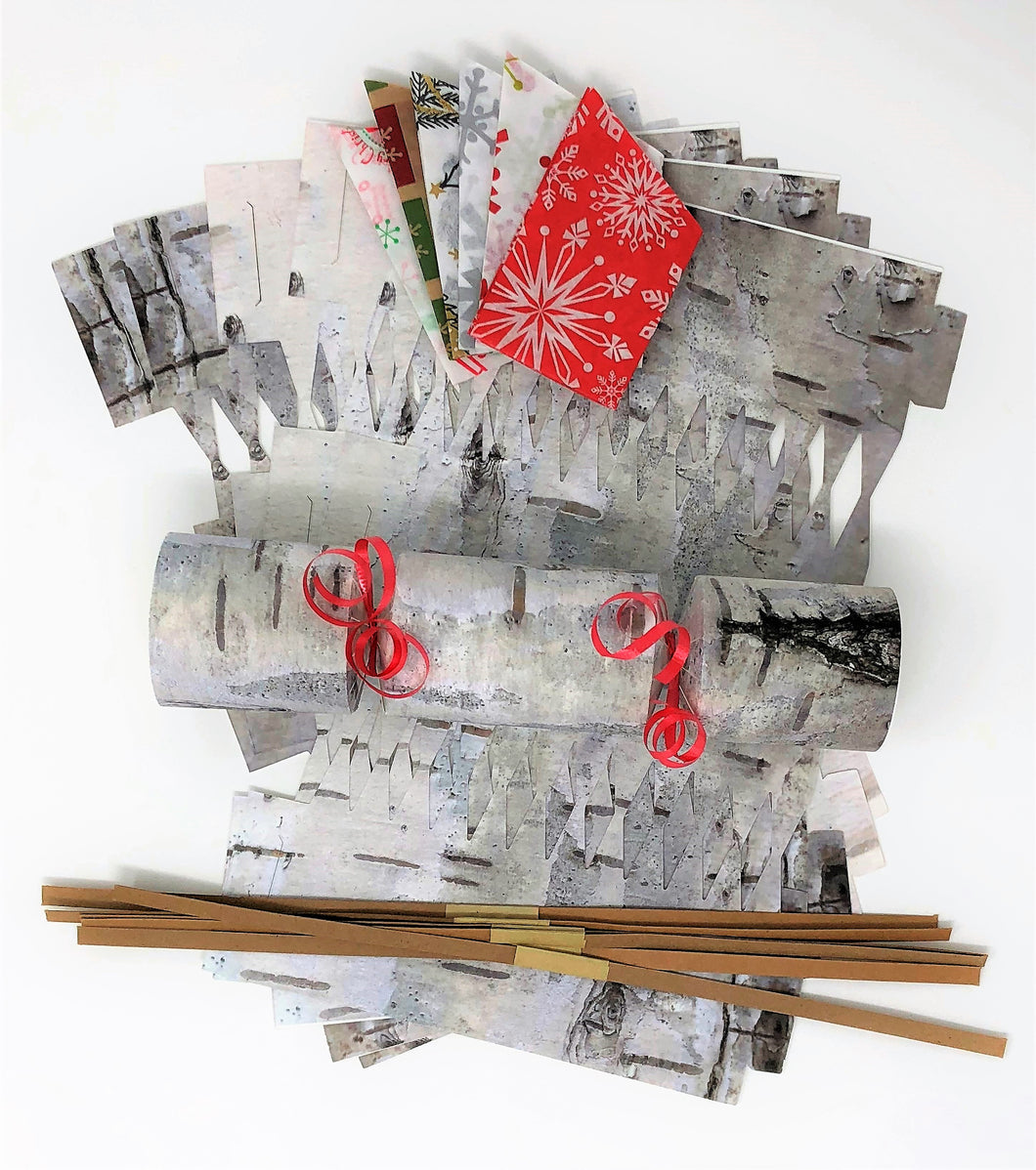 Birchbark Do it yourself (DIY) Christmas Cracker kit