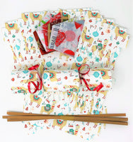 Christmas Cracker DIY kit with Lamas