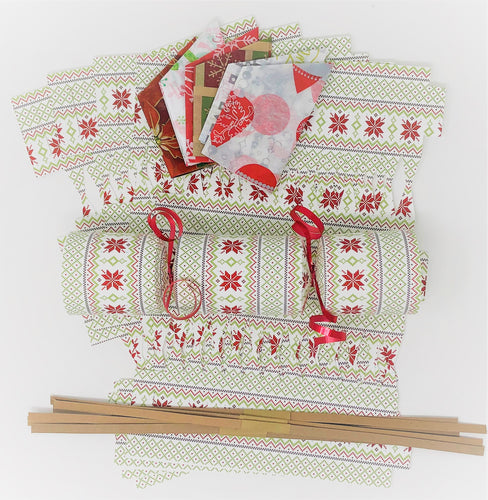 Christmas Cracker DIY kit - Scandifolk