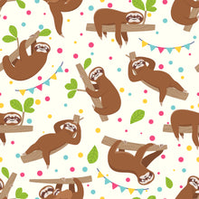 DIY Birthday Cracker Kit - Sloth