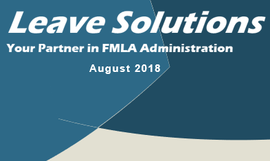August Leave Solutions FMLA Newsletter