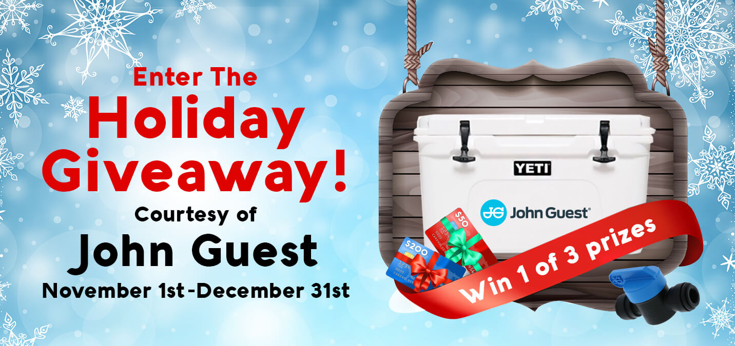 Enter The John Guest Holiday Giveaway Today!