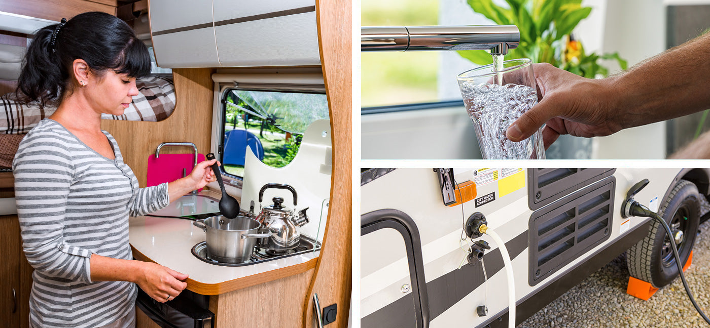 How To Find and Fix RV Water Pressure Problems