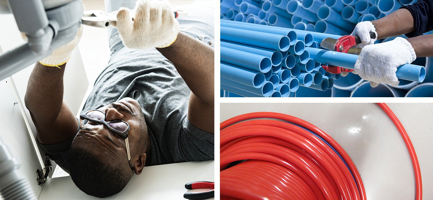 Types of Plastic Water Pipes and Tubing – Fresh Water Systems