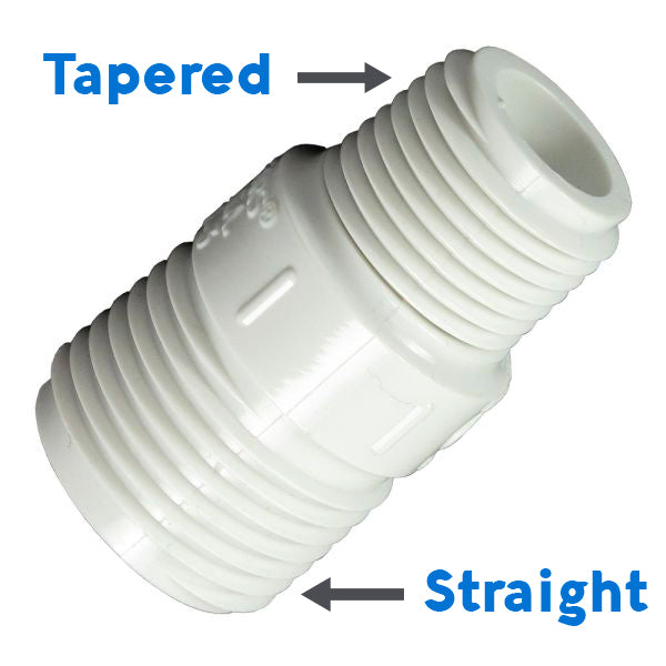 tapered thread