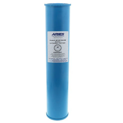 "Aries AF-20-1042-BB 20"" x 4-1/2"" Catalytic Carbon Filter"