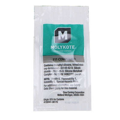 Molykote - Dow 111 O-Ring Lubricant - 6 Gram Pillow Pack