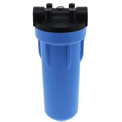 "Pentek 150542 10"" 3G Standard Filter Housing Black/Blue MB w/ PR"