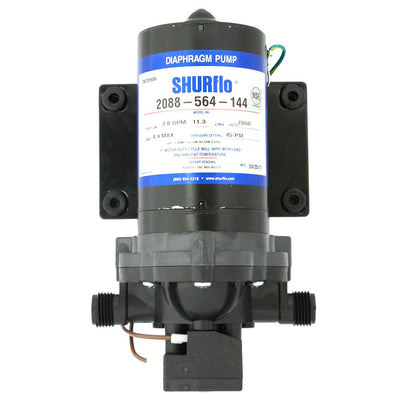 SHURflo 2088-564-144 Delivery Pump 3.0 gpm 45 psi 230VAC No Cord