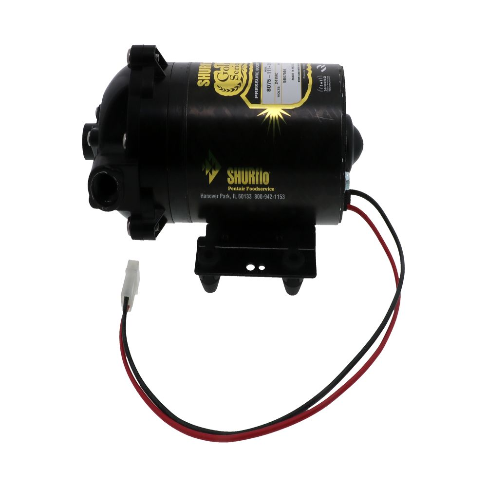 shurflo 8075 111 313 gold series ro booster pump 50 gpd 90 psi 24v