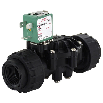 2-Way Solenoid Valve Normally Closed 3/4 FPT 240V