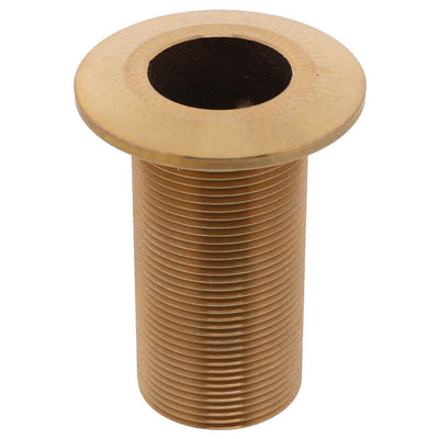 "Watts Marine Bronze Thru-Hull Fitting Only Without Nut - 1-1/4"" NPSM"