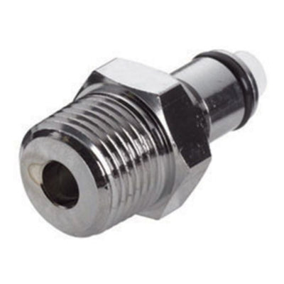 LCD24006 Valved Male Thread Coupling Insert 3/8 NPT