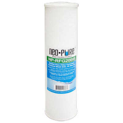 "Neo-Pure NP-RFG20BB 20"" BB Radial Flow GAC Carbon Filter 25 micron"