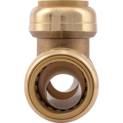 "SharkBite® U374LF Lead-Free Brass Push-to-Connect Tee - 1"" x 1"" x 1"""