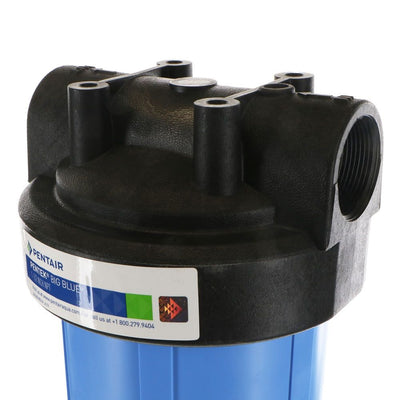 "Pentek 20"" Big Blue Water Filter Housing No Pressure Relief"