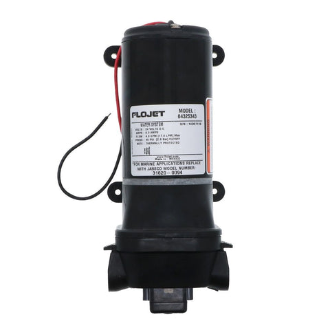 Flojet Quad II 4325 Series Automatic Washdown Pump 4.5 gpm 40 psi