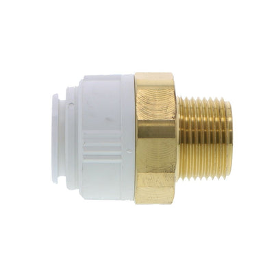John Guest Brass Male Connector  BSPT - 28mm x 1 BSPT