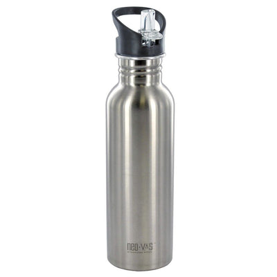 Neo Vas 27 oz. Stainless Steel Water Bottle w/ Neo Sip Cap - and Flip Cap
