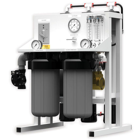 Fresh Water Commercial Reverse Osmosis System by AXEON 500 gpd