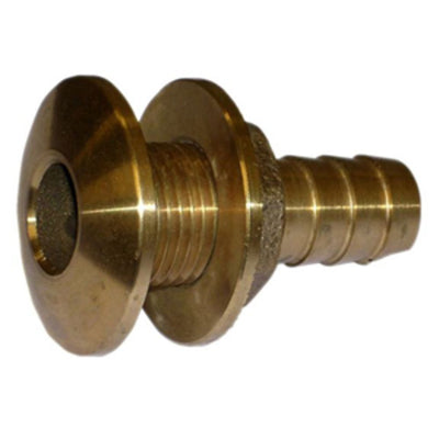 Watts Marine Bronze Barbed Thru-Hull Fitting With Nut - 1-1/8""