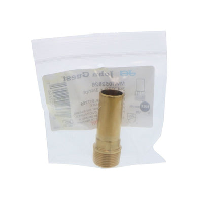 John Guest Brass Male Stem Adapter NPT - 3/4 CTS x 3/4 NPT