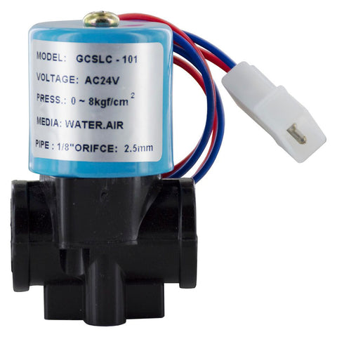 ESO DC-100 Electronic Shut-off Solenoid Valve with QC fittings 24VAC