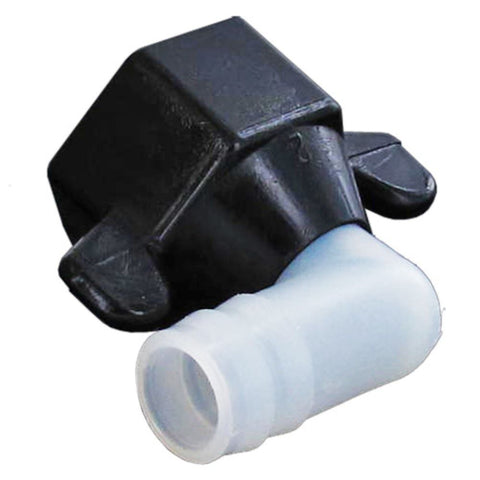 SHURflo 244-3926 Wingnut Swivel Elbow 1/2 FNPT x 1/2 BARB Nylon