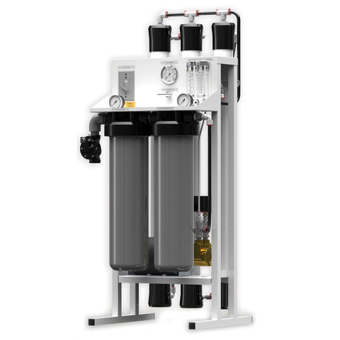 Fresh Water Commercial Reverse Osmosis System by AXEON 2000 gpd