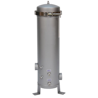 "Shelco 4FOS2 20"" Multi-Cartridge Stainless Steel Filter Housing"
