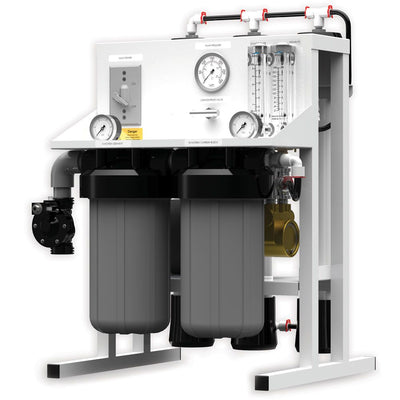 Fresh Water Commercial Reverse Osmosis System by AXEON 1000 gpd