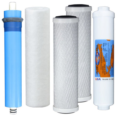TGI-525 RO System Replacement Water Filter Kit