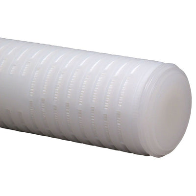 "Neo-Pure 9-3/4"" High Purity Polypropylene Filter 0.2 micron 222/Flat Silicone O-rings"