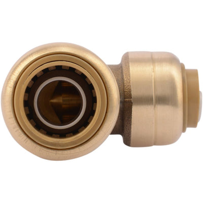 "SharkBite® U272LF Lead-Free Brass Push-to-Connect Reducing Elbow - 1/2"" x 3/8"""