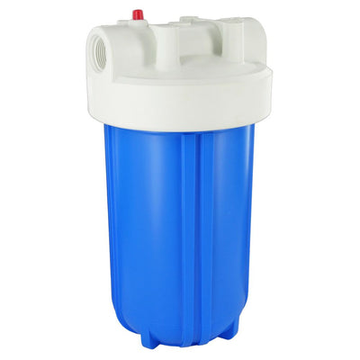 "10"" Full Flow Water Filter Housing w/PR 1"" NPT Compatible to with Aqua-Pure AP801"