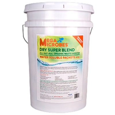 MegaMicrobes Dry Premium Organic Waste Digester - Water Soluble Packets