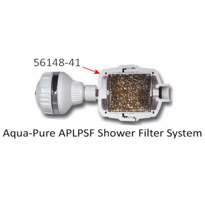 3M Aqua-Pure APLPSF-RC Low Profile Shower Filter Cartridge