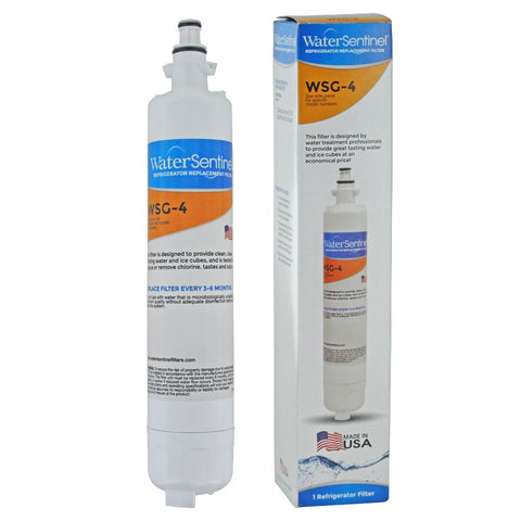 Water Sentinel WSG-4 GE RPWF Compatible Refrigerator Water Filter