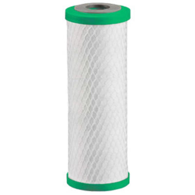 "Matrikx Chloraguard 10"" 1 Micron Green Carbon Block Filter"