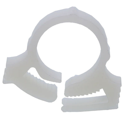 "Hose Clamp Nylon w/ Snap Grip (for 0.58"" to 0.66"" OD)"