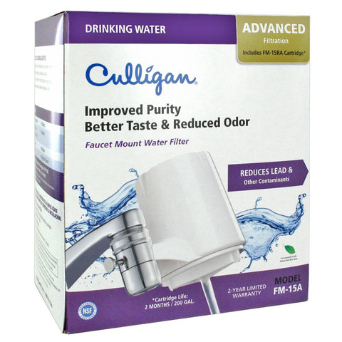 Culligan FM-15A Faucet Filter Lead/Cyst