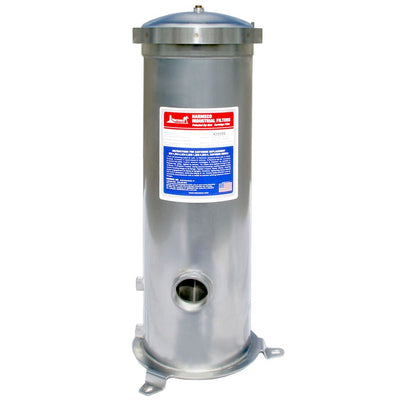 Harmsco® BC4-2 Band Clamp Up-Flow Filter Housing 50 gpm - 316 Stainless Housing