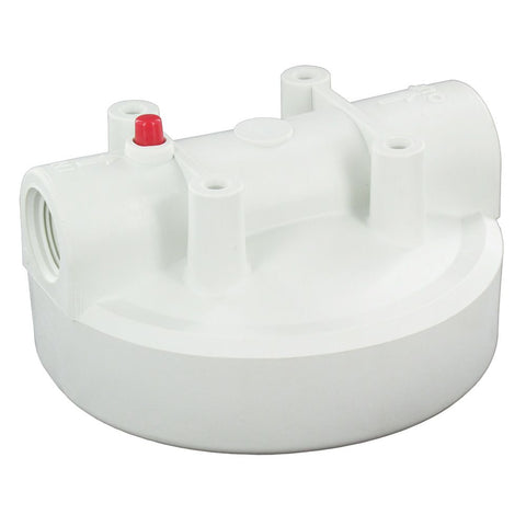 White Full Flow Cap Compatible to AP801 and AP802 Housings