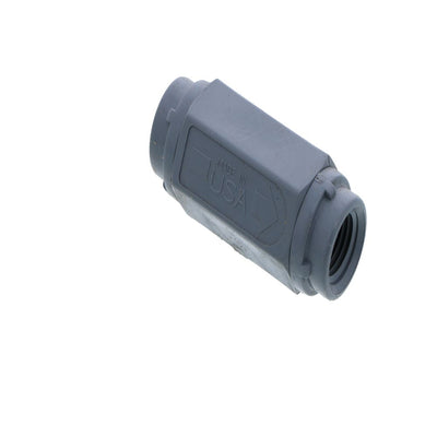 "Check Valve 426 Series PVC Gray 1/4"" FPT VITON"